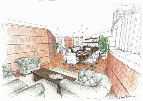 disegni per interni disegno di interno in prospettiva