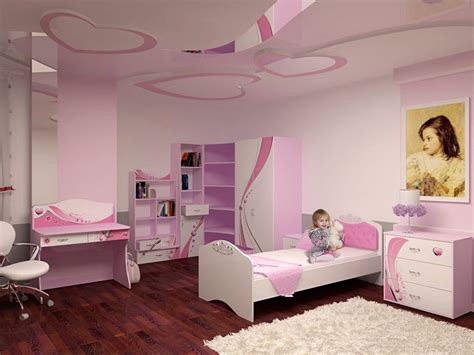 exquisite pink bedroom  stunning wall design home design