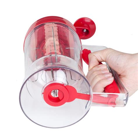 Kitchen Living Mixing System by Chef Buddy 28 Oz Batter Dispenser With Mixing System