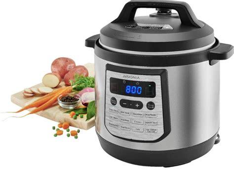 insignia cooker pressure quart brand appliances qt