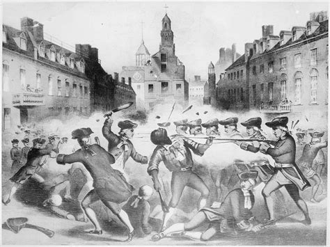 Boston Massacre, 03-05-1770