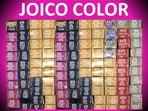New! Joico Vero K-pak Permanent Hair Color Creme 2.5 Oz