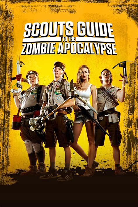 zombie apocalypse scouts guide zombies scout horror raunchy gory awesome loads movies corner fun films ride johns john