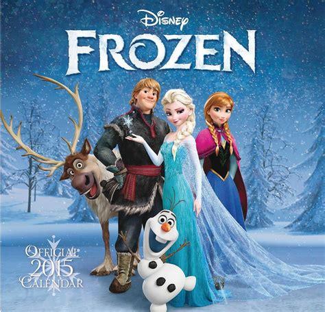 frozen el reino del hielo calendarios
