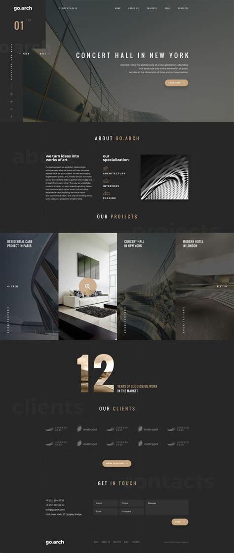 ideas  architecture websites  pinterest