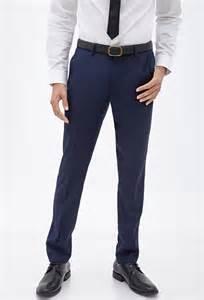 Navy Blue Dress Pants Men