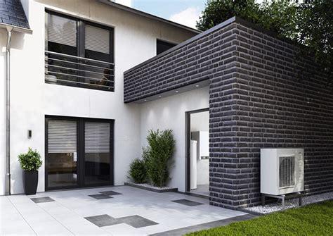 Einfamilienhaus Kompaktes Ziegelhaus Mit Erdwaermepumpe by W 228 Rmepumpen Viessmann Heizen Mit Naturw 228 Rme