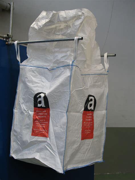 asbest big bag xxcm mit verschliessbarem deckel