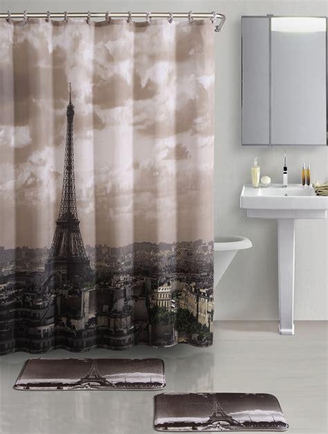 eiffel tower shower curtain bed bath beyond curtains eiffel tower shower curtain