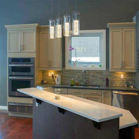 ideas como iluminar una cocina  led