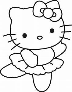 hello kitty pictures to color | Free Printable Hello Kitty ...