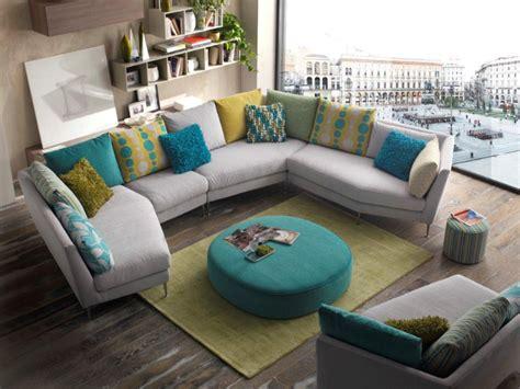 canapé de couleur grand coussin de canape maison design modanes com