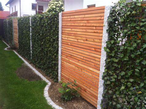 Garten Sichtschutz by Baustelle Garten Bronder Hecke Am Laufenden Meter
