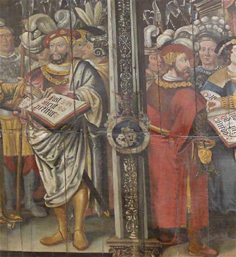 conservators   grips  tudor paintings