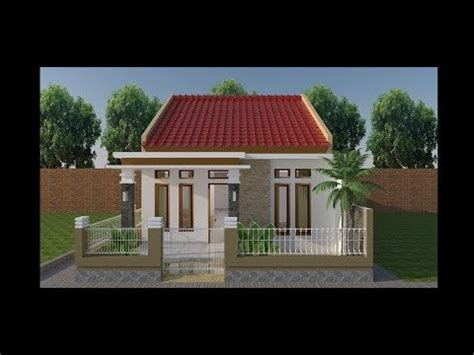 denah rumah minimalis sederhana ukuran