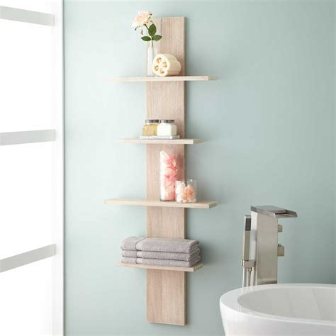 Above Kitchen Cabinets Ideas - wulan hanging bathroom shelf four shelves bathroom