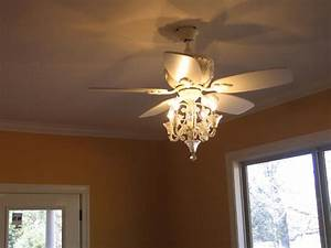 White shabby chic ceiling fan wanted imagery