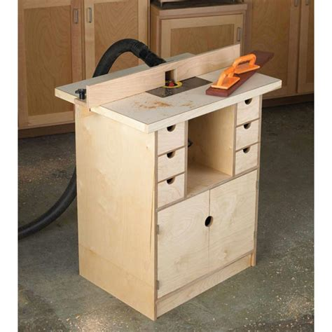 router table  organizer woodworking plan  wood magazine