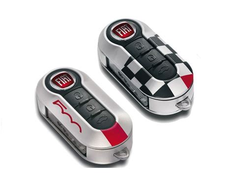 Fiat Key Covers by Fiat Genuine Official 500 New Car Key Style Key Fob Covers