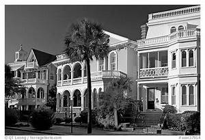 Black and White Picture/Photo: Row of Antebellum houses ...