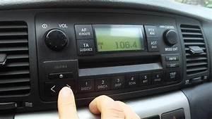 Toyota Corolla Radijo Cd Player W58802