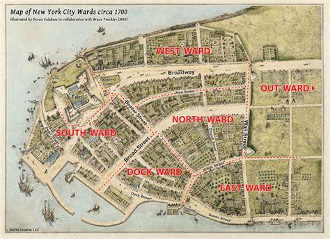 Saving New York Maps 1700