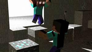 Pics For > Minecraft Herobrine Vs Steve Wallpaper