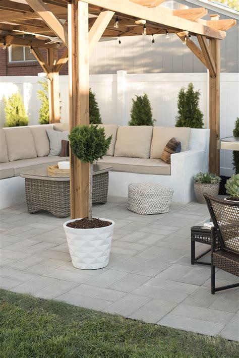 diy paver patio how to install a custom paver patio room for tuesday