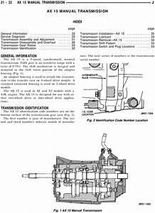Jeep Ax 15 Transmission Service  U0026 Workshop Repair Manual
