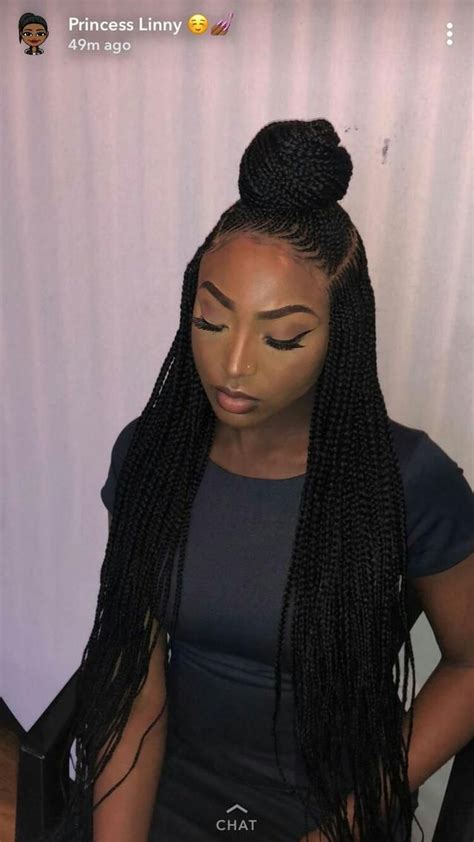 18 most beautiful braided bun for african american woman