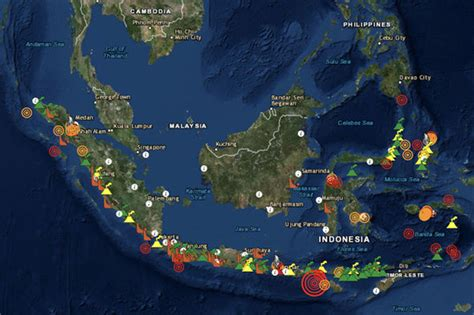 bali volcano map   mount agung exclusion zone