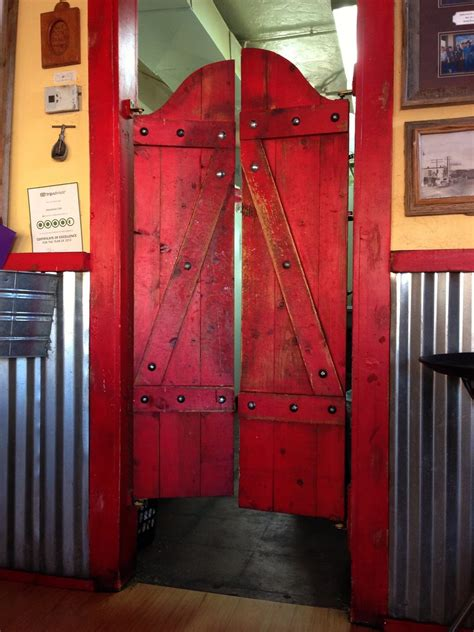 saloon doors   horseshoe cafe  wickenburg