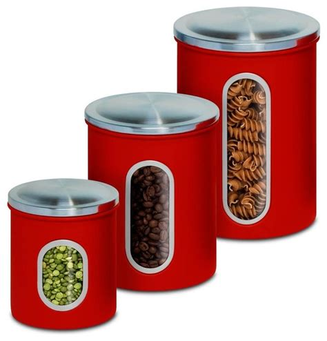 contemporary kitchen canister sets kitchen canister set set of 3 contemporary kitchen