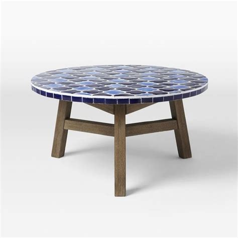 mosaic outdoor coffee table more colors for your green