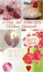 Easy DIY Christmas Ornament Crafts