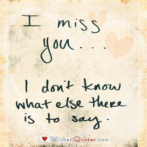 Missing You Images Quot I Miss You Quot Quotes