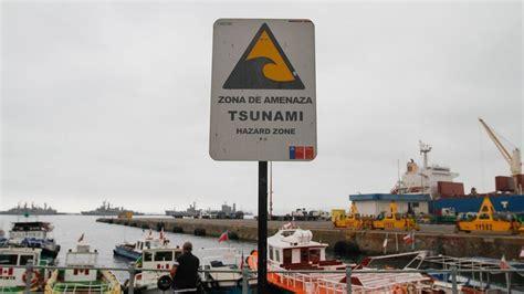 onemi anuncia simulacro sismo tsunami  la region