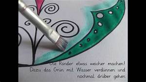 Mit Wasserfarbe Malen : anleitung mandala malen mit wasserfarben u filzstift ~ Watch28wear.com Haus und Dekorationen