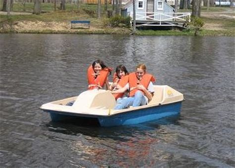 Paddle Boats For Rent by Country Acres Cground