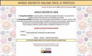 Sorteio amigo secreto online por sms aula para concurso