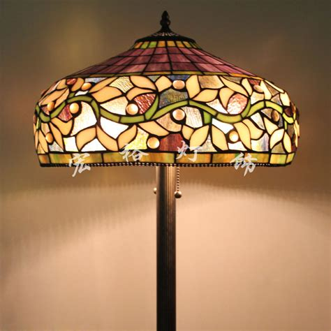 tiffany glass l shades upscale american tiffany stained glass floor l shade