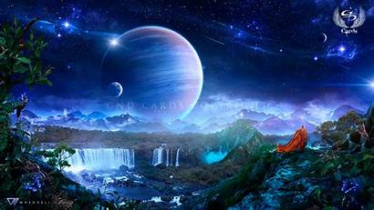 Sanctuary Deviantart Whendell Wallpapers Space Painting Fantasy