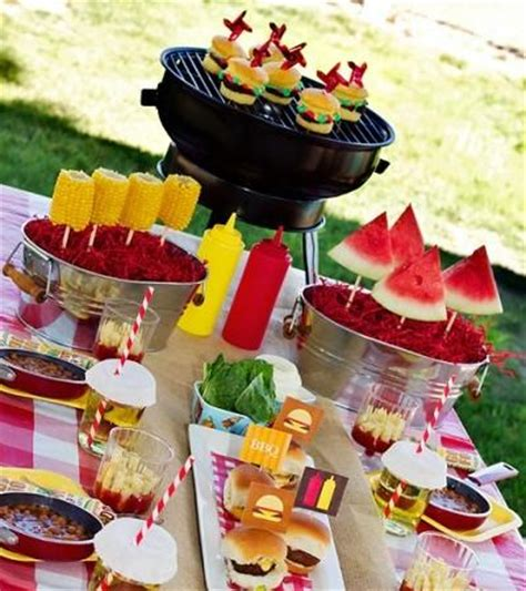 bbq table decorations easy bbq decorations