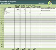 daily activity log templates word excel  formats