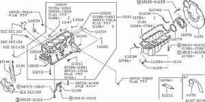 Nissan Stanza Engine Oil Pan Gasket