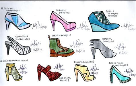 how to design shoes design fashionandotherrandomthings