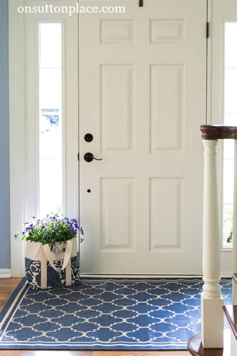 entryway area rugs how to refresh a small entry on sutton place