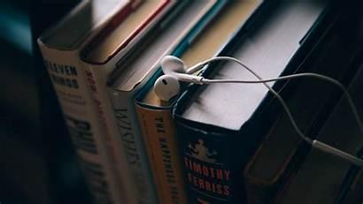 Headphones Education Books Laptop Earpods Libros Wallpapers