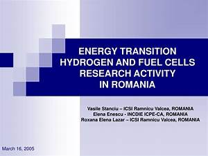 PPT - ENERGY TRANSITION HYDROGEN AND FUEL CELLS RESEARCH ...