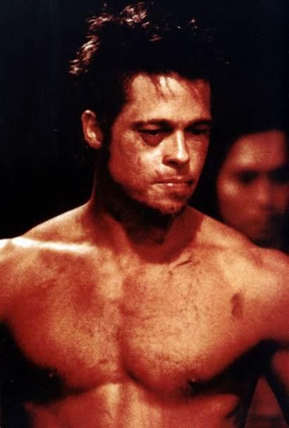 Tyler Durden Stills Brad Pitt Fight Club